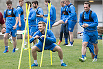 St Johnstone Training…16.05.17<br />David Wotherspoon pictured during training this morning ahead of tomorrows game against Hearts.<br />Picture by Graeme Hart.<br />Copyright Perthshire Picture Agency<br />Tel: 01738 623350  Mobile: 07990 594431