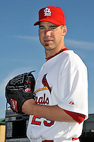 Mar 01, 2010; Jupiter, FL, USA; St. Louis Cardinals  pitcher Chris Carpenter (29) during  photoday at Roger Dean Stadium. Mandatory Credit: Tomasso De Rosa/ Four Seam Images