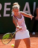 15-8-09, Den Bosch,Nationale Tennis Kampioenschappen, Finale vrouwen,   Richel Hogenkamp wint de NTK