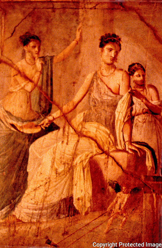 Roman Art:  National Museum, Naples.  Photo '83.