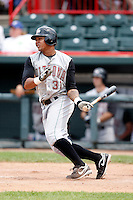 June 25, 2009:  Right Fielder Jose Tabata (31) of the Altoona Curve at bat during a game at Jerry Uht Park in Erie, PA.  The Altoona Curve are the Eastern League Double-A affiliate of the Pittsburgh Pirates.  Photo by:  Mike Janes/Four Seam Images
