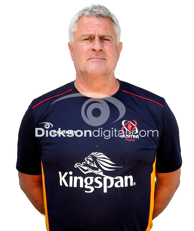 Tuesday 24th August 2021<br /> <br /> Mick Ennis - Ulster Rugby Resources Manager<br /> <br /> Ulster Rugby Head Shots at Kingspan Stadium, Ravenhill Park, Belfast, Northern Ireland. Photo by John Dickson/Dicksondigital