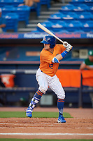 St. Lucie Mets right fielder Quinn Brodey (12) at bat during a game against the Daytona Tortugas on August 3, 2018 at First Data Field in Port St. Lucie, Florida.  Daytona defeated St. Lucie 3-2.  (Mike Janes/Four Seam Images)
