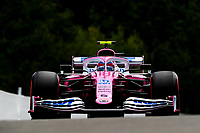29th August 2020, Spa Francorhamps, Belgium, F1 Grand Prix of Belgium , qualification;   18 Lance Stroll CAN, BWT Racing Point F1 Team