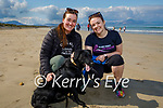 Taking Nina the dog for a walk in Banna on Saturday were Laura McElligott and Catherine O'Halloran.