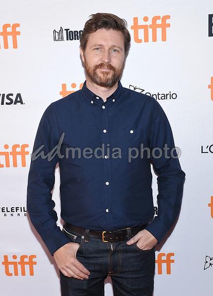 "11 September 2017 - Toronto, Ontario Canada - Andrew Haigh. 2017 Toronto International Film Festival - ""Lean On Pete"" Premiere held at The Elgin. Photo Credit: Brent Perniac/AdMedia"