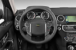 Car pictures of steering wheel view of a 2014 Land Rover LR4 Base 5 Door SUV Steering Wheel