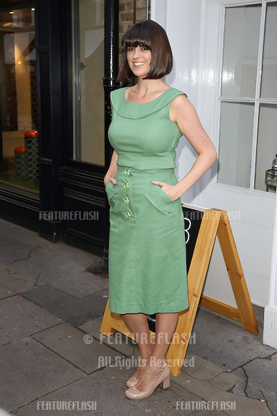 Dawn O'Porter arriving for the BOB By Dawn O'Porter Pop Up Boutique - VIP Launch Party<br /> London, England. 06/05/2015 Picture by: James Smith / Featureflash