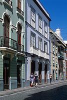 Spanien, Kanarische Inseln, La Palma,  Santa Cruz, Calle O'Daly