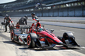 Verizon IndyCar Series<br /> IndyCar Grand Prix<br /> Indianapolis Motor Speedway, Indianapolis, IN USA<br /> Saturday 13 May 2017<br /> Mikhail Aleshin, Schmidt Peterson Motorsports Honda, pit stop<br /> World Copyright: Michael L. Levitt<br /> LAT Images