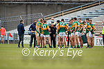 Kerry Manager Peter Keane talking to the Kerry team during the Allianz Football League Division 1 South between Kerry and Dublin at Semple Stadium, Thurles on Sunday.