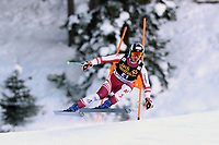 19th December 2020; Saslong, Val Gardena, Tyrol, Italy; International Ski Federation Alpine Ski World Cup, 2nd Men's Downhill, Val Gardena; Hannes Reichelt (AUT)