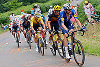 2nd July 2021; Le Creusot, France; during stage 7 of the 108th edition of the 2021 Tour de France cycling race, a stage of 248,1 kms between Vierzon and Le Creusot