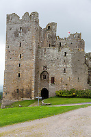 UK, England, Yorkshire.  Bolton Castle, finished 1399, where Mary Queen of Scots was imprisoned several months in 1568-69.