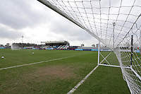 General view of the ground during West Ham United Women vs Arsenal Women, Women's FA Cup Football at Rush Green Stadium on 26th January 2020
