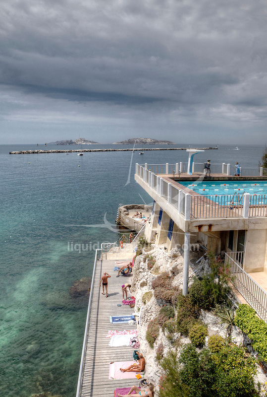 The Cercle des nageurs de Marseille is part of the French swimming history, one of the world's best swimming team, Marseille, Bouches-du-Rhône, France.