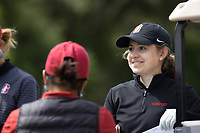 STANFORD, CA - APRIL 24: Brooke Seay at Stanford Golf Course on April 24, 2021 in Stanford, California.