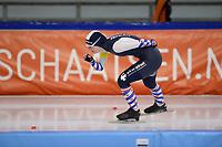 SCHAATSEN: HEERENVEEN: 10-10-2020, KNSB Trainingswedstrijd, Sanne Westra, ©foto Martin de Jong