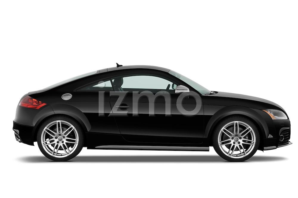 Passenger side profile view of a 2010 Audi TTS Coupe.