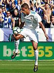 Real Madrid's Raphael Varane during La Liga match. September 23,2017. (ALTERPHOTOS/Acero)