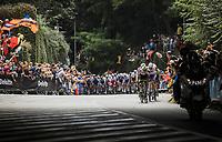 peloton up the Keyzerberg<br /> <br /> Men Elite – Road Race (WC)<br /> Race from Antwerp to Leuven (268.3km)<br /> <br /> ©kramon