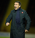 10/11/2010   Copyright  Pic : James Stewart.sct_jspa006_motherwell_v_st_johnstone  .::  ST JOHNSTONE MANAGER DEREK MCINNES  ::.James Stewart Photography 19 Carronlea Drive, Falkirk. FK2 8DN      Vat Reg No. 607 6932 25.Telephone      : +44 (0)1324 570291 .Mobile              : +44 (0)7721 416997.E-mail  :  jim@jspa.co.uk.If you require further information then contact Jim Stewart on any of the numbers above.........