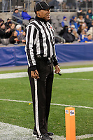 Line Judge Tim Graham. The Boston College Eagles defeated the Pitt Panthers 26-19 in the football game played at Heinz Field, Pittsburgh Pennsylvania on November 30, 2019.