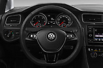 Car pictures of steering wheel view of a 2017 Volkswagen Golf-Variant Trend-Line 5 Door Wagon Steering Wheel