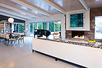 Interior view of Mid-Century modern Palm Springs house