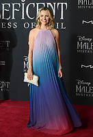 """LOS ANGELES, USA. September 30, 2019: Beverley Mitchell at the world premiere of """"Maleficent: Mistress of Evil"""" at the El Capitan Theatre.<br /> Picture: Jessica Sherman/Featureflash"""