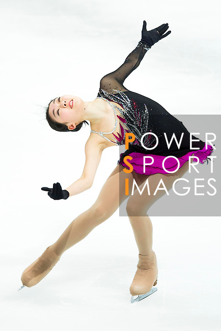 TAIPEI, TAIWAN - JANUARY 23:  Zijun Li of China performs her routine at the Ladies Short Program event during the Four Continents Figure Skating Championships on January 23, 2014 in Taipei, Taiwan.  Photo by Victor Fraile / Power Sport Images *** Local Caption *** Zijun Li