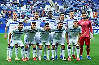 22nd September 2021: RCDE Stadium, Barcelona, Spain: La Liga Football, Espanyol versus Atletico Madrid; Espanyol line up versus Atletico Madrid;