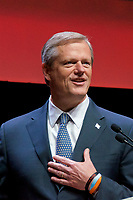 Governor Charlie Baker of Massachusetts welcoming the URJ Biennial at the Hynes Convention Center Boston MA 12.6.17
