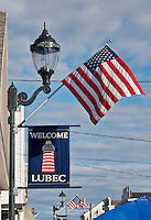 Lubec, Maine, USA. Eastern most point in the USA.
