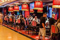 Las Vegas, Nevada.  The Linq Casino.  Gaming Tables.