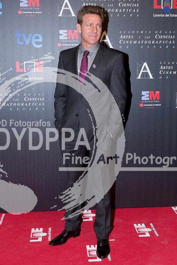 28/01/2012. Real Casa de Correos. Madrid. Spain. Goya Awards Nominated Gala 2012. Juanjo Artero