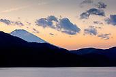 Fuji-Yama depuis le lac Ashi