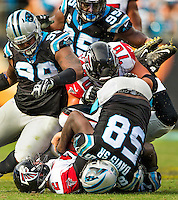 Carolina Panthers vs. the Atlanta Falcons during their NFL game Sunday afternoon December 14, 2015  at Bank of America Stadium in Charlotte, North Carolina.<br /> <br /> Charlotte Photographer: PatrickSchneiderPhoto.com