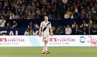 Carson, CA - Sunday April 8, 2018: The Los Angeles Galaxy lost to Sporting KC 0-2 during a Major League Soccer (MLS) game at StubHub Center.