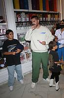 18 September 2021 - Las Vegas, NV - Scott Disick, Mason Disick, Reign Disick. Scott Disick Celebrates the Grand Opening of The Sugar Factory Las Vegas At Harmon Corner. Photo Credit: MJT/AdMedia