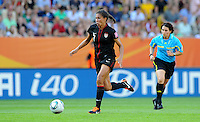 Shannon Boxx during the FIFA Women's World Cup at the FIFA Stadium in Dresden, Germany on July 10th, 2011.