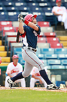 Washington Nationals minor league outfielder Bryce Harper (34) at bat during a game vs. the Chinese National Team in an Instructional League game at Holman Stadium in Vero Beach, Florida September 30, 2010.   Harper was selected in the first round, 1st overall, of the 2010 MLB Draft out of Southern Nevada Junior College.  Photo By Mike Janes/Four Seam Images