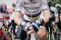 CX World Champion Wout Van Aert (BEL/Crelan-Charles) at the start<br /> <br /> CX Brico Cross Eeklo 2017 (BEL)