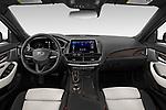 Stock photo of straight dashboard view of 2020 Cadillac CT5-V V-Series 4 Door Sedan Dashboard