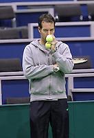 6-2-10, Rotterdam, Tennis, ABNAMROWTT, First quallifying round, Dennis Schenk