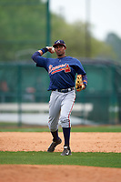 Atlanta Braves Carlos Franco (71) during an intrasquad Spring Training game on March 29, 2016 at ESPN Wide World of Sports Complex in Orlando, Florida.  (Mike Janes/Four Seam Images)
