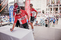 Sean de Bie (BEL/Lotto-Soudal) signing in<br /> <br /> 10th Heistse Pijl 2017