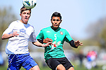 DALLAS, TX - MARCH 25:  Alianza DE Futbol v Knowsley Youth of Great Britain at  the Dr Pepper Dallas Cup at Richland College in Dallas, TX  on March 25, 2013. (©2013 Rick Yeatts)
