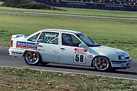 Round 13 of the 1991 British Touring Car Championship. #58 Jeff Wilson (GBR). HWR Motorsport. Vauxhall Belmont.