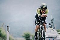 Esteban Chavez (COL/Michelton-Scott)<br /> <br /> stage 16: Trento – Rovereto iTT (34.2 km)<br /> 101th Giro d'Italia 2018